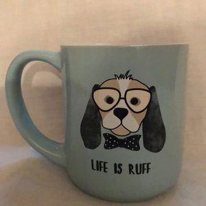 Coffee Mug Dog Lovers Life is Ruff